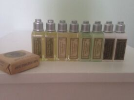 GENUINE L'OCCITANE Large Verbena Selection 9 X PRODUCTS great for travel
