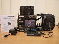 "Panasonic Lumix TZ200 20.1 MP Digital Camera Latest 1"" sensor 4k video + Extras"