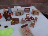 Dolls House Furniture from the 70's
