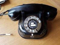 Antique reproduction Bell telephone