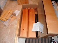 solid pine four drawer chest of drawers as new boxed