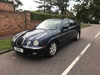 JAGUAR S-TYPE V6 1999 PRIVATE PLATE FULL SERVICE HISTORY FROM JAGUAR FULLY LOADED