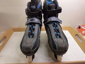 Fabulous adjustable roller blades inline skates - to fit sizes 3-6