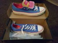 Converse size 6, worn once £30 ONO