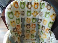 Joie Mimzy Snacker High Chair- Owls
