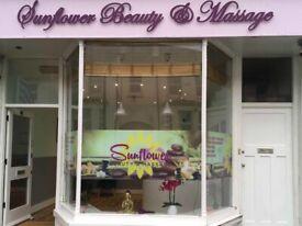 Relaxing Massage at Sunflower Beauty & Massage, Eastbourne