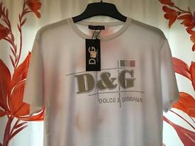 D G brand new with T.shirt xl
