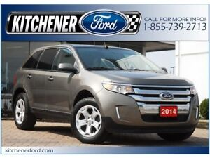 2014 Ford Edge SEL LEATHER/NAVI/PANO ROOF/AWD/REAR CAM/