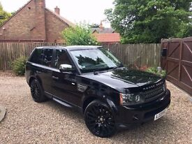 2010 59 Land Rover Range Rover Sport 3.6 TD V8 HSE 5dr! STUNNING! CHEAPEST 3.6 IN THE COUNTRY!