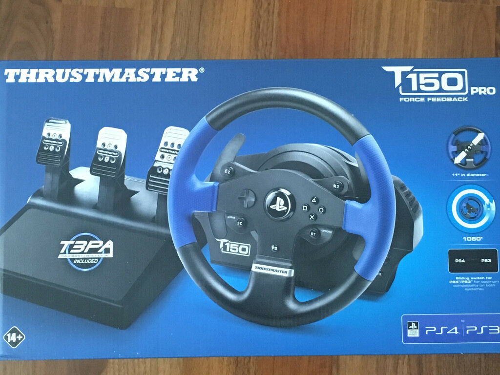 Thrustmaster T150 PRO, T3PA Pedals INCLUDED