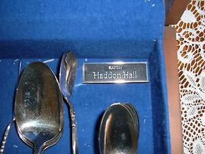 26 ASSORTED PIECES OF SOUTH SEAS COMMUNITY SILVERWARE AND CHEST Windsor Region Ontario image 2