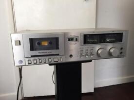 Vintage technics Cassette deck