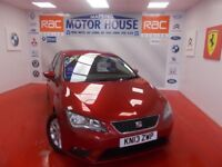 SEAT Leon TDI SE (£0.00 ROAD TAX) FREE MOT'S AS LONG AS YOU OWN THE CAR!! (red) 2013