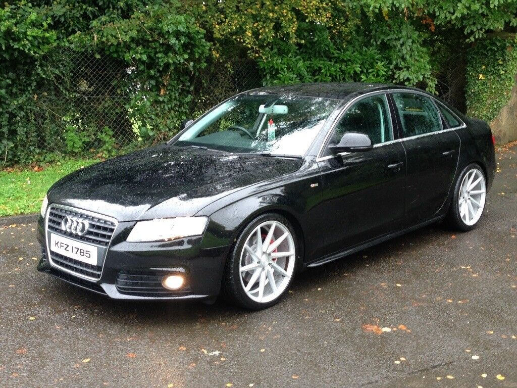 2008 audi a4 2 0 tdi fully s line kitted not jetta leon golf passat a6 a3 in claudy county. Black Bedroom Furniture Sets. Home Design Ideas