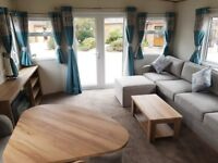 Brand new static caravan with 2018 sites included - patio doors - choice of 12 parks - East Coast