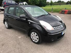 NISSAN NOTE 2008 1.4 16V, 5dr, FULL SERVICE HISTORY, LOW MILEAGE, NEW MOT, NEW SERVICE