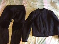Frank Thomas leathers two piece