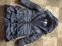 Monsoon girls coat jacket Age 12-13 years