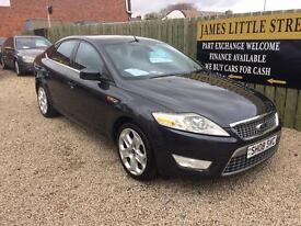 Ford Mondeo titanium x 140 diesel 08 Reg low mileage heated seats finance available