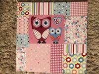 The owl canvas