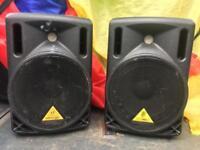 Behringer B208D , Active speakers x 2