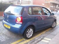 VW POLO 1.2 NEW SHAPE 2007 CHEAP TO RUN AND INSURE *** £1595 ONLY *** 5 DOOR HATCHBACK