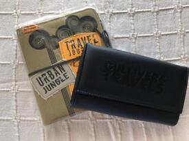 Travel Journal and wallet. New