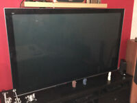 "65"" Panasonic TV - TX-P65VT30B - Full HD, 3D TV, with 5x 3D glasses"