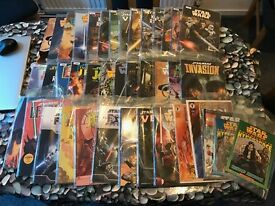 Star Wars, Gears of War, Mass Effect & Dead Space Books & Graphic Novels - Large Collection!