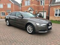 2012 AUDI A6 2.0 DIESEL AUTOMATIC, FULL SERVICE HISTORY, FULL MOT, TECH PACK, XENON, HEATED SEATS