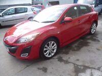 Mazda 3 Sport,5 dr hatchback,FSH,2 keys,sports interior,keyless entry,keyless go,sporty looking car