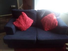 2 times Sofa's. One is a 3 seater and the other is a 2 seater.
