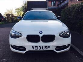 BMW 1 Series Sport - Alpine White - 2013 model