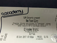 New Found Glory - 5 October - O2 Academy Bristol - cheaper than face value!!