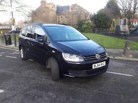 2014 (14 Reg) Volkswagen Sharan 2.0 TDi 177 BlueMotion Tech SE Met Black MPV DIES