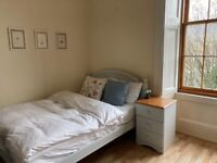 Beautiful fully furnished room in large west end flat