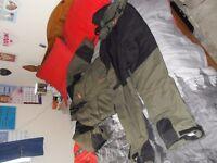 carp kenetics fishing suit