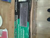 key tronic keyboard and optical mouse
