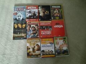 DVDs assortment excellent condition