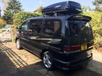 Live the dream - Toyota HiAce Regius Campervan for sale - in beautiful condition, with awnings