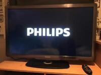 "40"" Phillips flat screen TV"