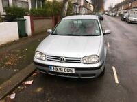 VOLKSWAGEN GOLF 1.6 AUTOMATIC PETROL QUICK SALE