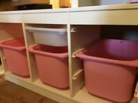 Ikea storage unit ideal for children's toys