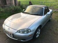 52 2002 Mazda MX5 1.6 Sport Convertible. 1 Years MOT, Low Mileage