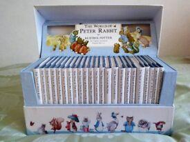 Beatrix Potter World of Peter Rabbit Books Full set of 23 Books