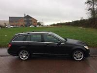 2009 MERCEDES C 220 CDI SPORT AUTO / MAY PX OR SWAP