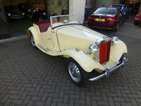 MG TD 1952, EX USA CAR, NOW UK REGISTERED