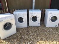 Job lot washing machines for spares or repairs