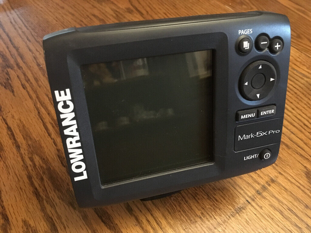 Lowrance Fishfinder Mark 5x Pro - Good condition with Install & Operation  manual  | in Brixham, Devon | Gumtree