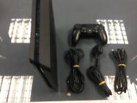 USED PS4 CONSOLE - STANDARD BLACK MODEL - 500GB STORAGE - CAN BE EXCHANGED IN STORE